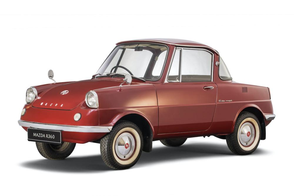 Der Mazda R360 war der erste Serienwagen der Japaner