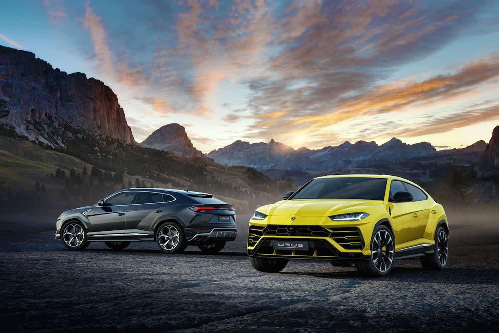 Lamborghini Urus Premiere