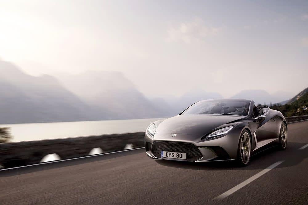 Der Elite kommt im Frühjahr 2014 und setzt auf den gleichen Motor wie der Esprit. Der 2+2-Sitzer kommt mit Elektromotoren und KERS
