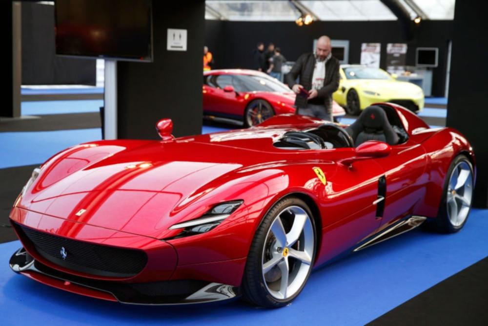 Der Ferrari Monza SP1 ist laut Wissenschaft das schönste Auto der Welt.