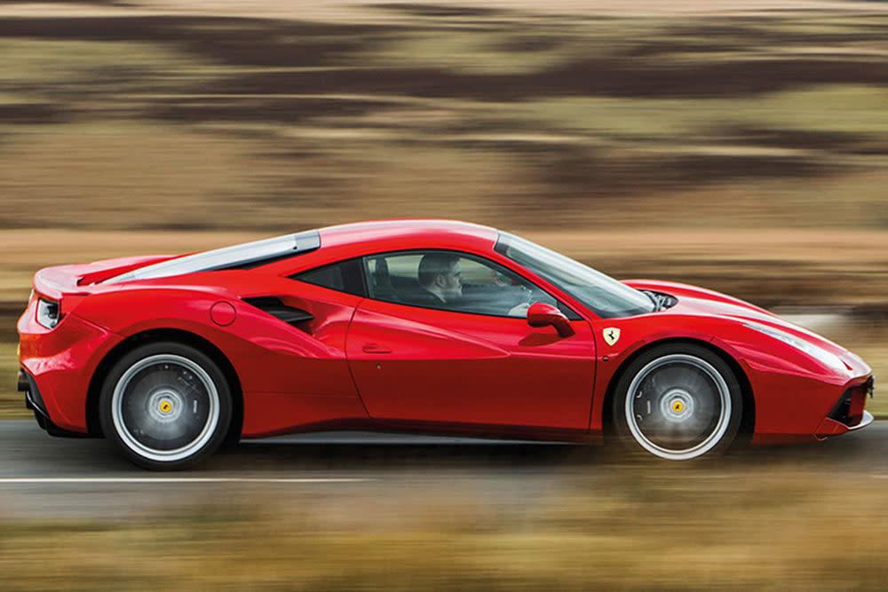 """Basis für das """"Special Project"""" SP38 ist ein Ferrari 488 GTB."""