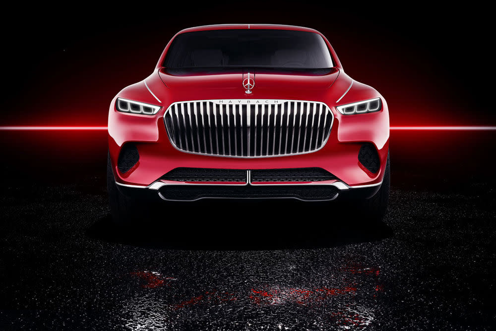 "Alle Bilder zum Vision Mercedes-Maybach ""Ultimative Luxury"""