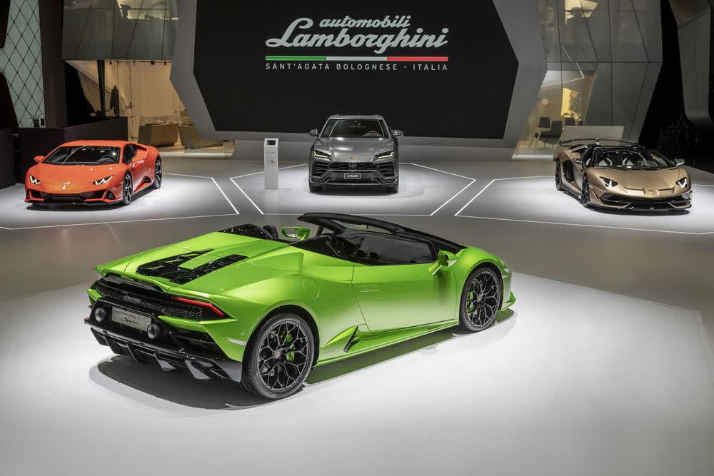 LamborghiniHuracán Evo Spyder.