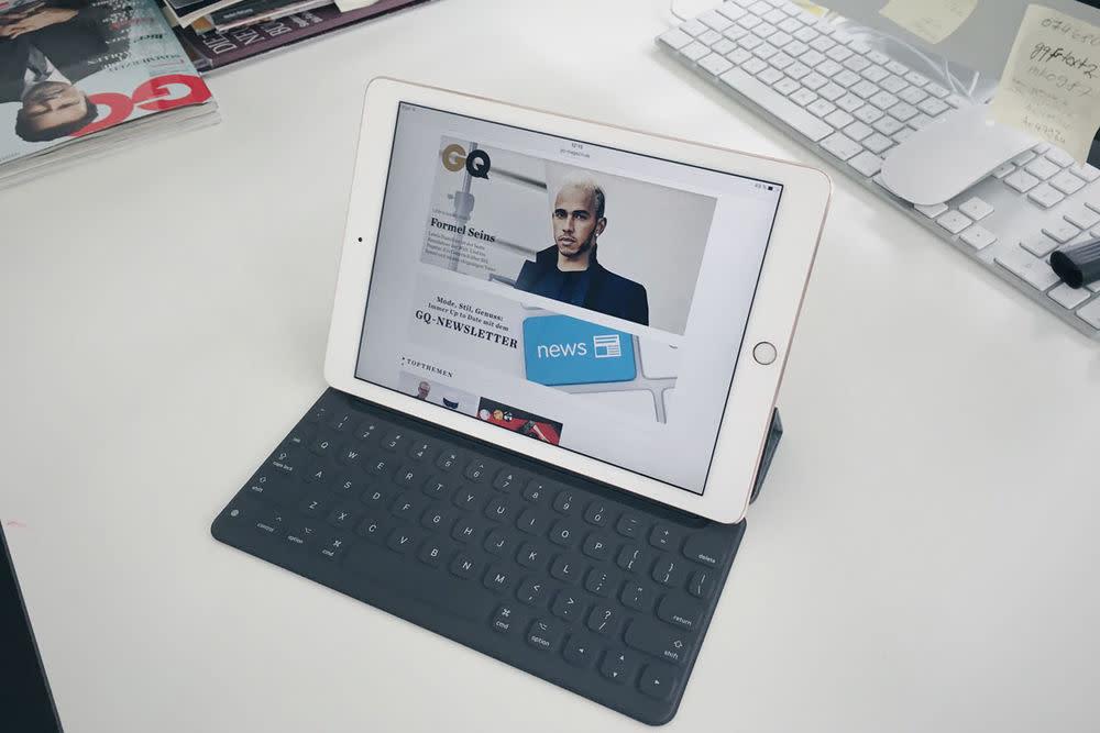 Fotos mit dem iPad? Klar geht das. Und mit dem neuen Pro sehen sie auch noch gut aus! Der Neuling von Apple hat die 12 Megapixelkamera der Smartphone bekommen.