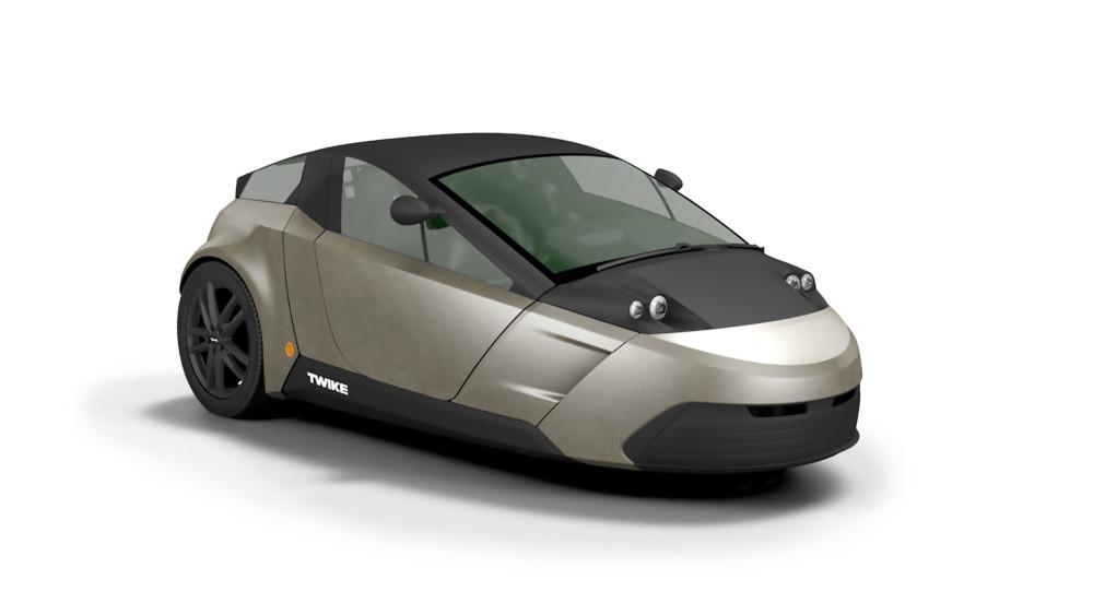 Mit unter 500 Kilogramm ist das Twike leichter als die meisten E-Autos.