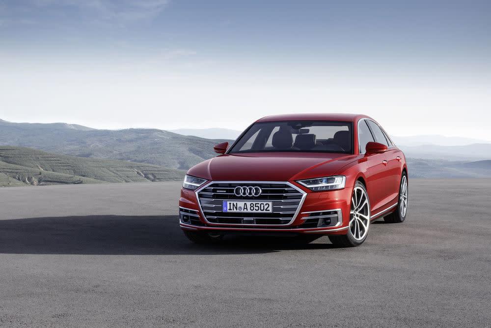 Auf dem Audi Summit in Barcelona zeigt Audi 70 Neuheiten. Die wichtigste: Die vierte Generation des Luxusliner Audi A8