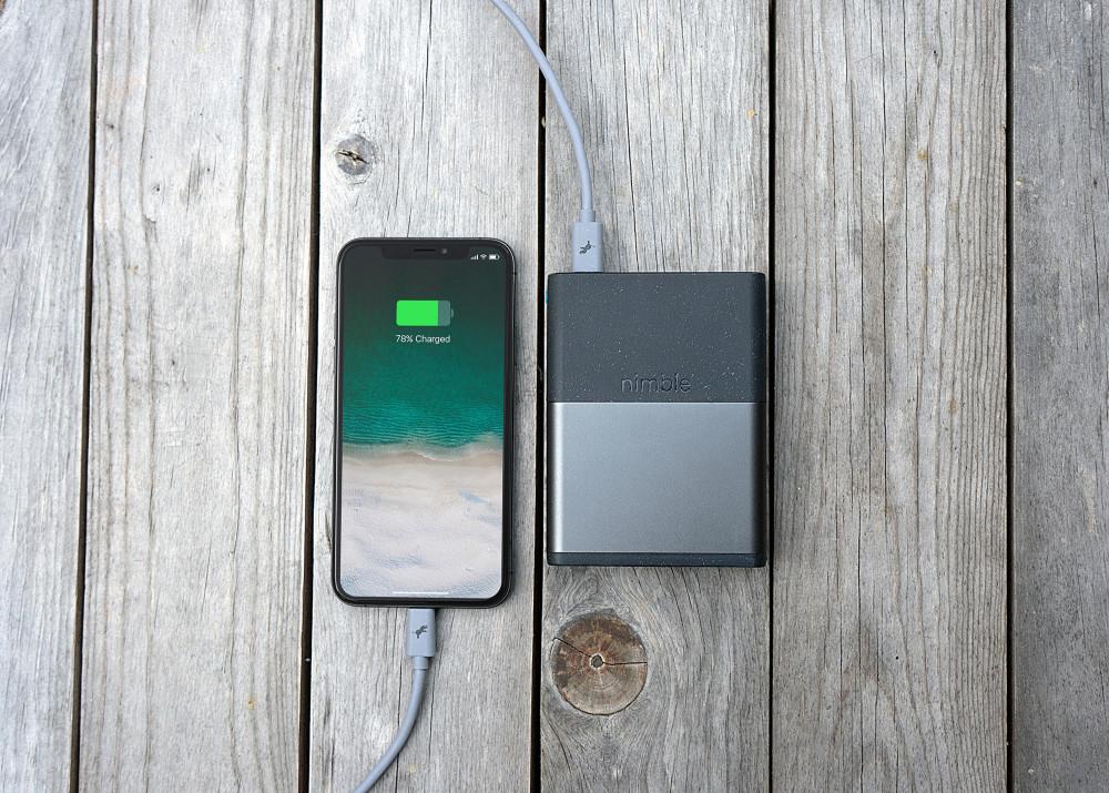 Die nimble Powerbank ist ein nachhaltiges Gadget