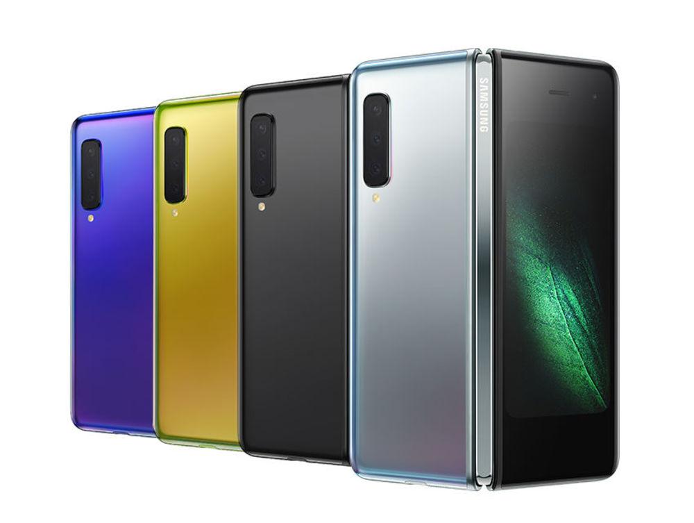 Das Galaxy Fold verfügt über das weltweit erste 7,3 Zoll Infinity Flex Display, das sich zu einem kompakten Gerät mit einem kleineren Display falten lässt.