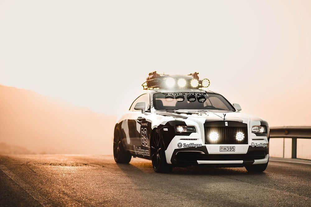 Den Anfang machte der Skistar mit einem Audi RS6 DTM Avant, später folgte ein Lamborghini Huracán, nun hat er einen Rolls-Royce in seinem Rennstall.