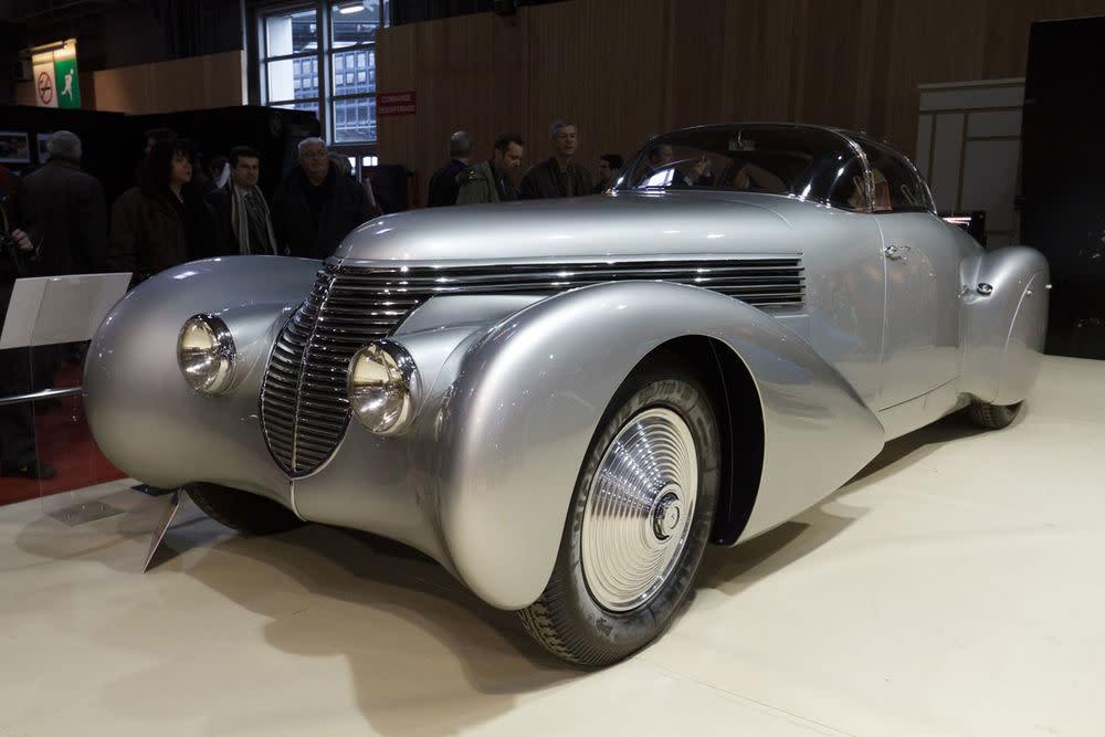 Man sieht die Gene: Ein Hispano-Suiza H6C 'Xenia' von 1938.