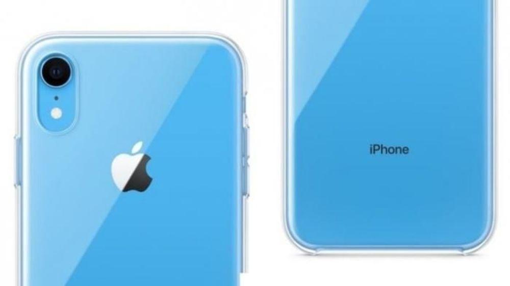 So sehen die transparenten Hüllen von Apple für das iPhone XR aus.