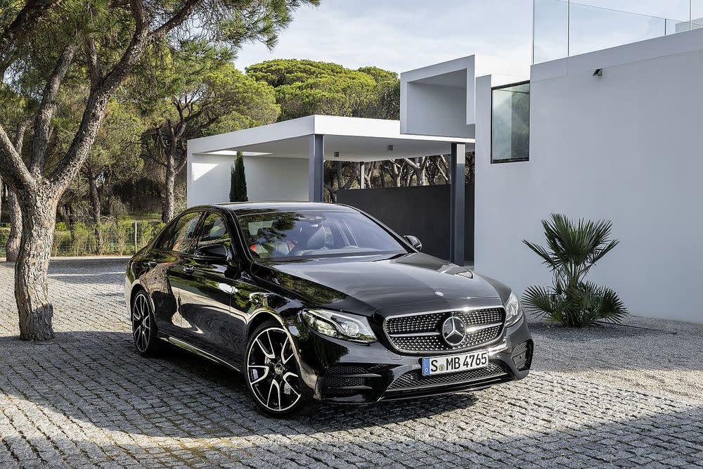Sportversion der neuen E-Klasse: Mercedes gönnt seiner Premiumlimousine mehr Power unter der Haube und eine aggressivere Optik