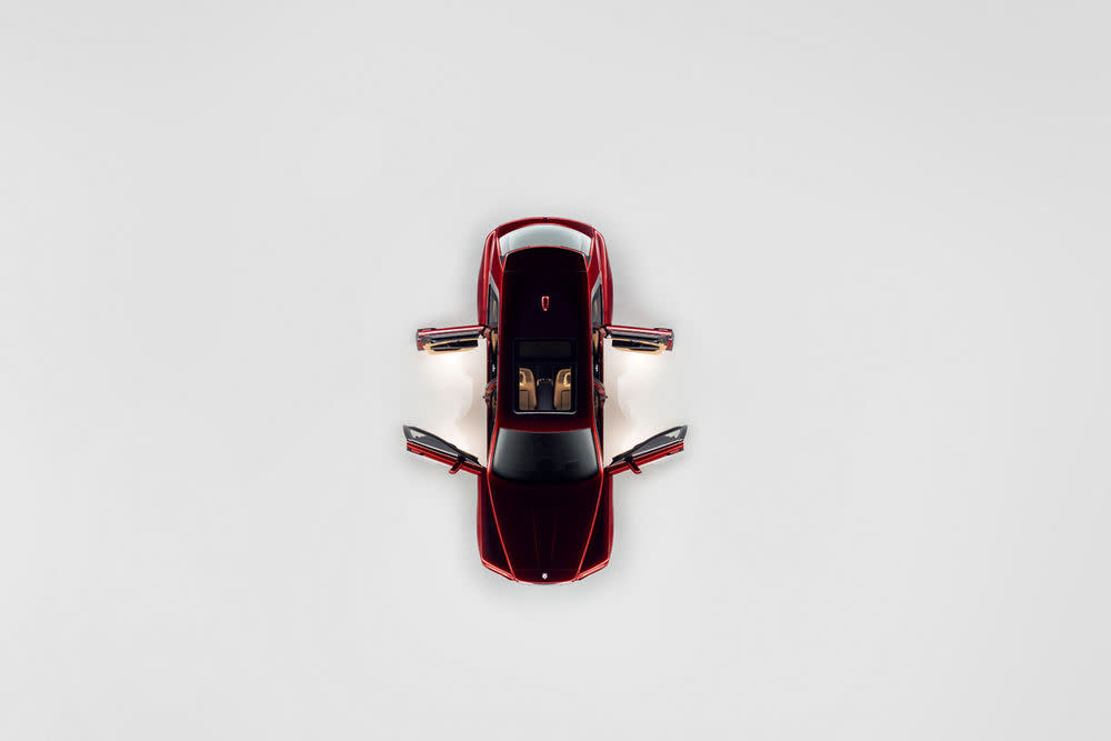 Rolls-Royce Cullinan, Magma Red, Artshot