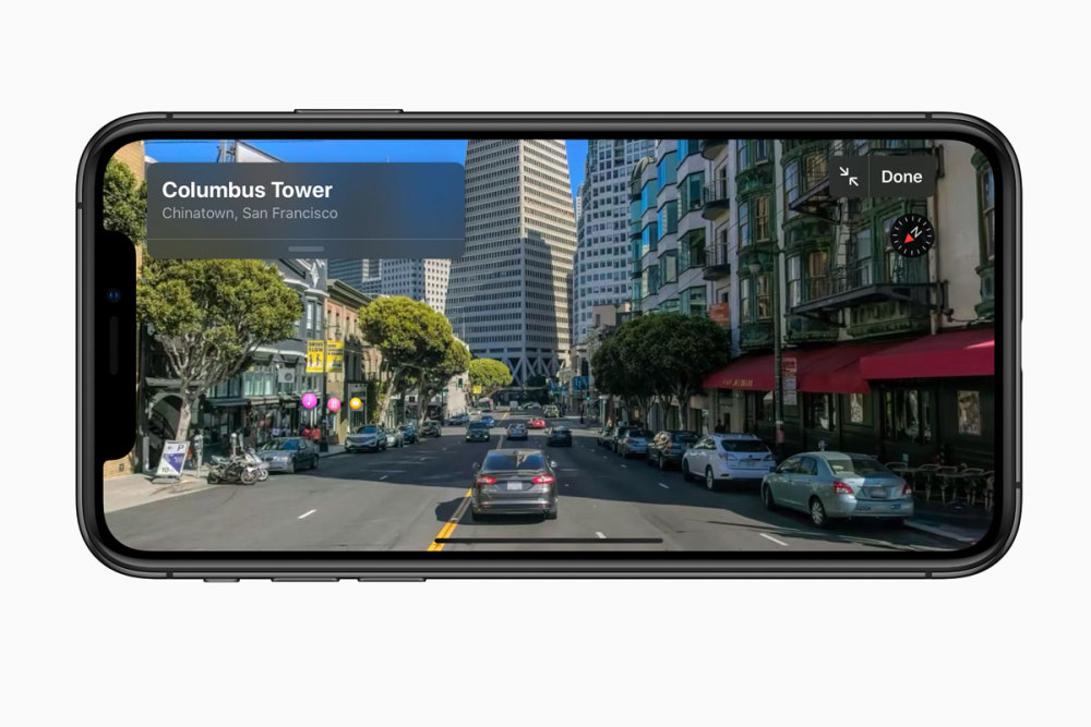 Street View gibt es künftig auch für Apple