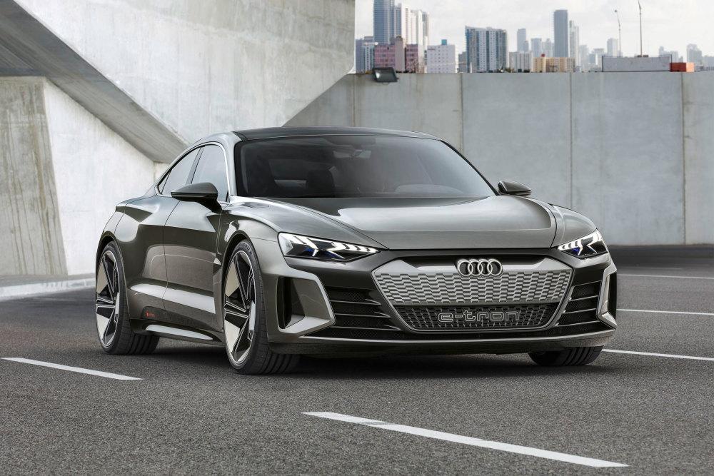 So sieht die Konzeptstudie des Audi e-tron GT aus
