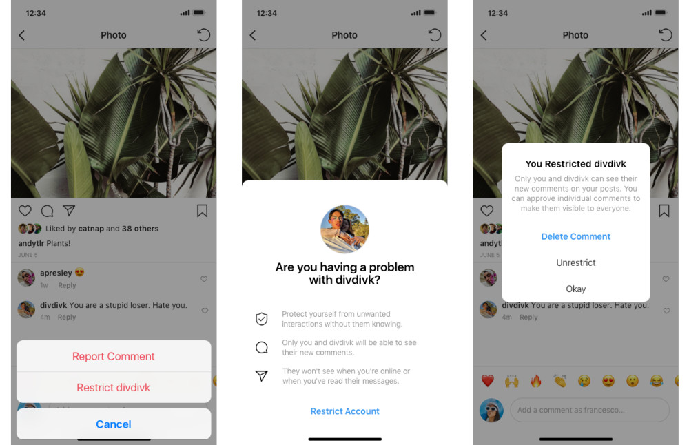 So will Instagram Opfer von Mobbing besser schützen