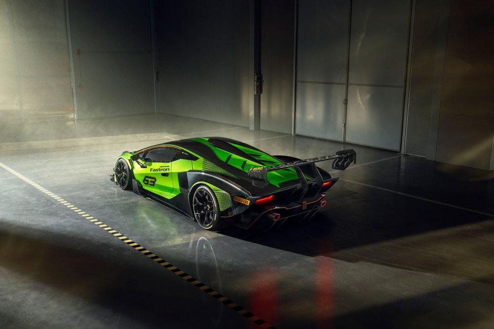 Lamborghini Essenza SCV12 limitiert von hinten