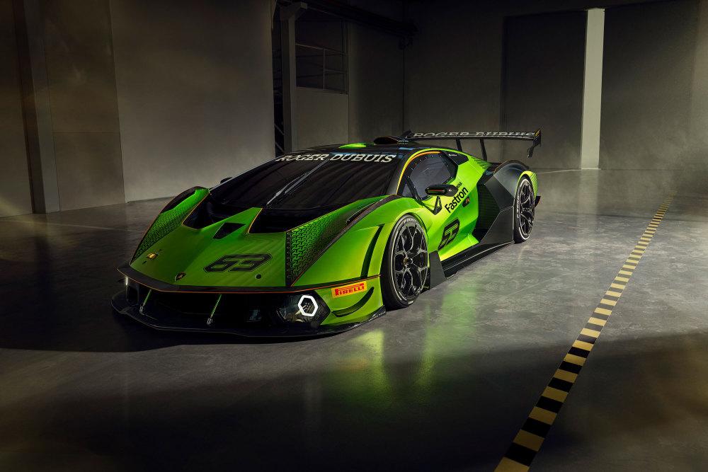 Lamborghini Essenza SCV12 limitiert von vorne