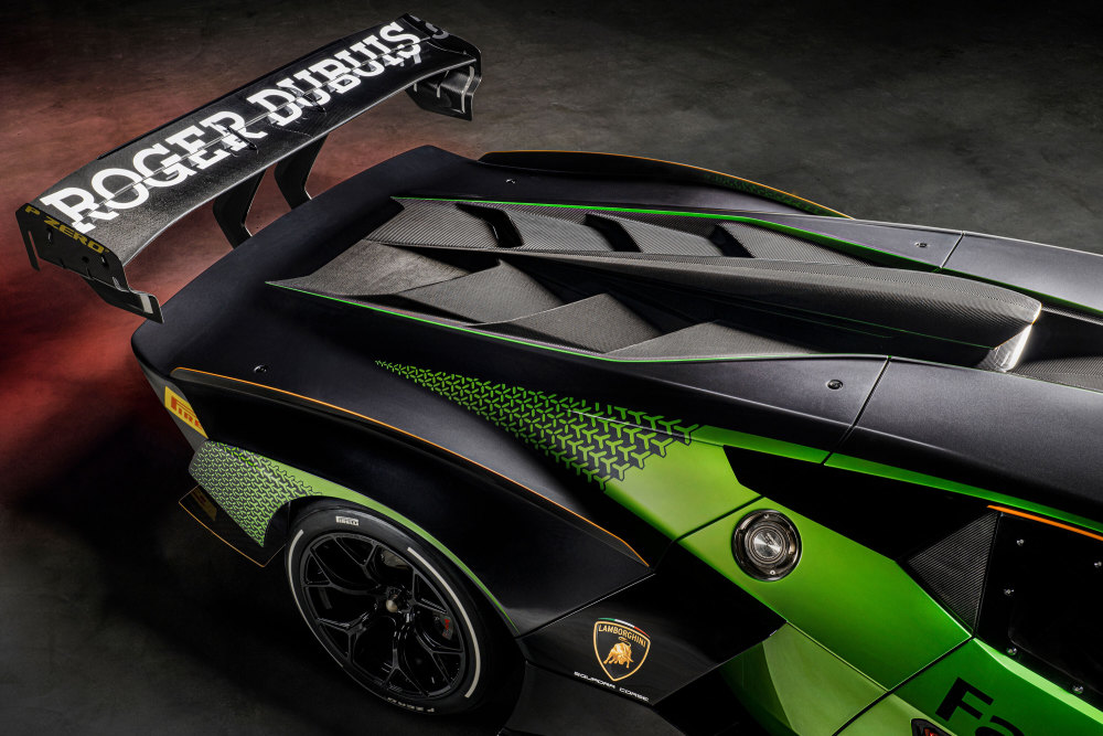 Lamborghini Essenza SCV12 limitiert Heckansicht