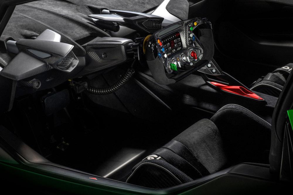 Lamborghini Essenza SCV12 limitiert Innenraum