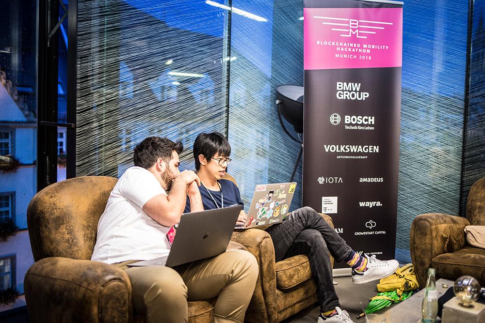 Blockchained Mobility Hackathon in München 2