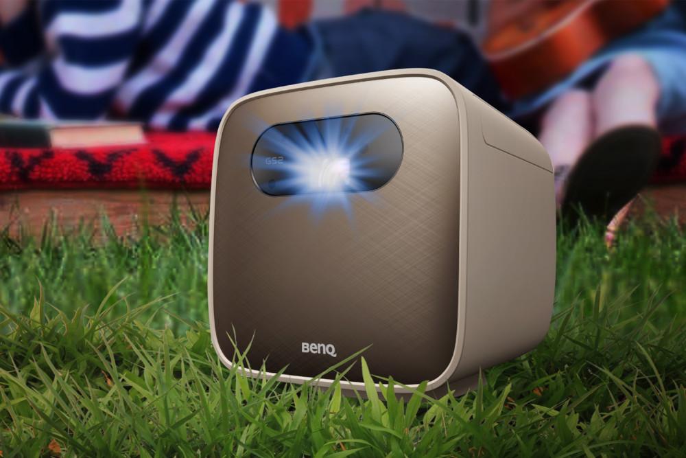 Outdoor-Gadgets, Gadgets, Sommer 2020, Sommerurlaub, Beamer, Mini-Beamer, BenQ, BenQ GS2