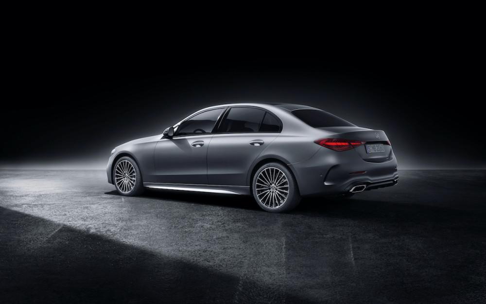 Optisch ändert sich bei der neuen Mercedes C-Klasse kaum etwas.