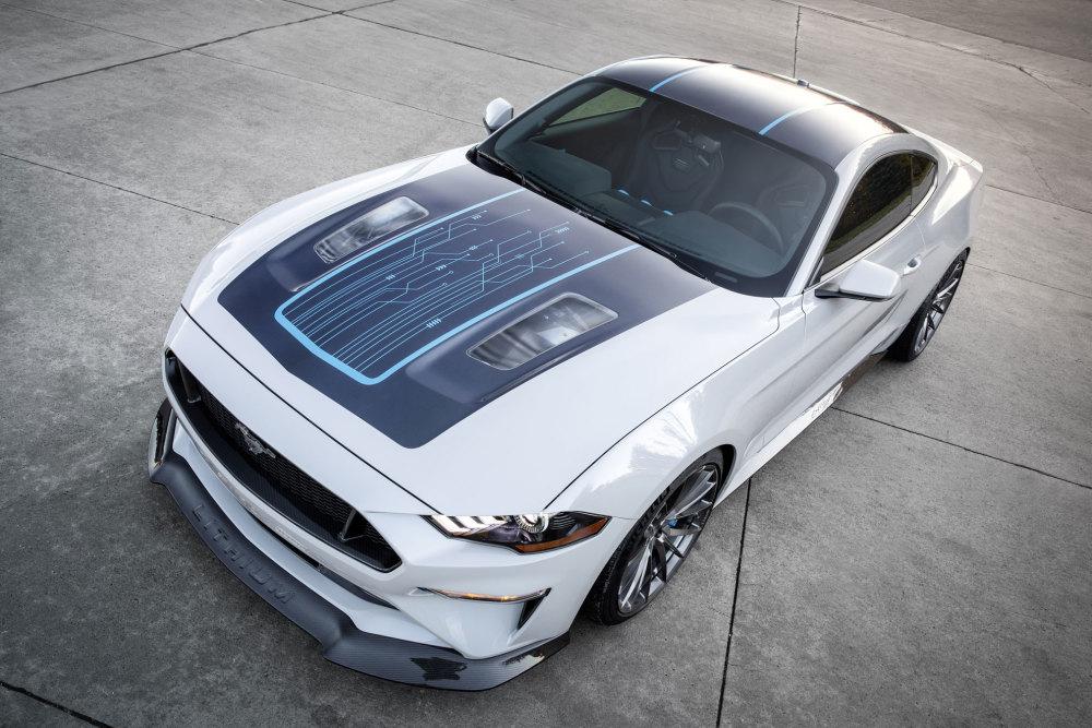 Der Ford Mustang Lithium ist der stärkste Mustang aller Zeiten.