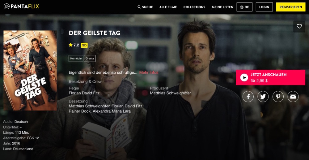 Pantaflix Streaming Schweighöfer