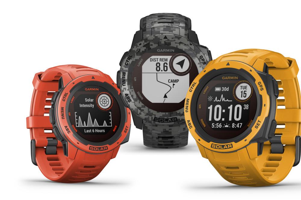 Outdoor-Gadgets, Gadgets, Sommer 2020, Sommerurlaub, Smartwatch, Garmin, Garmin Instinct Solar