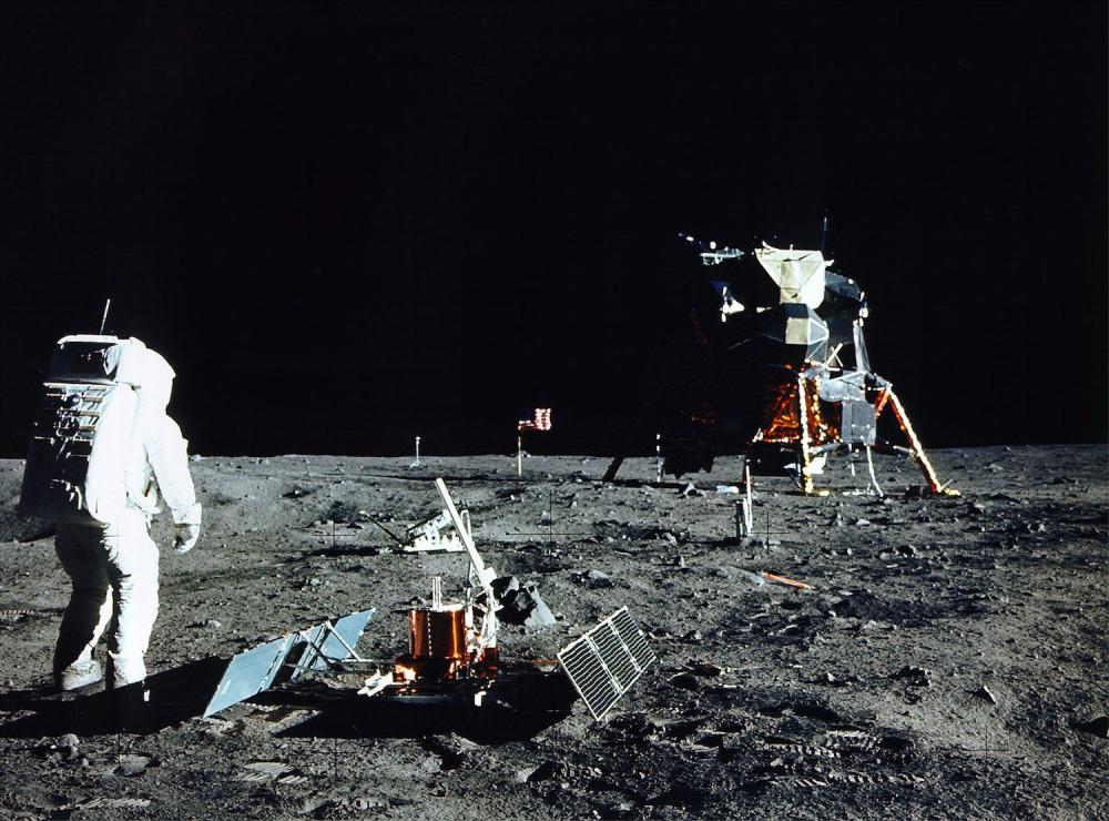 Mondlandung NASA historisch
