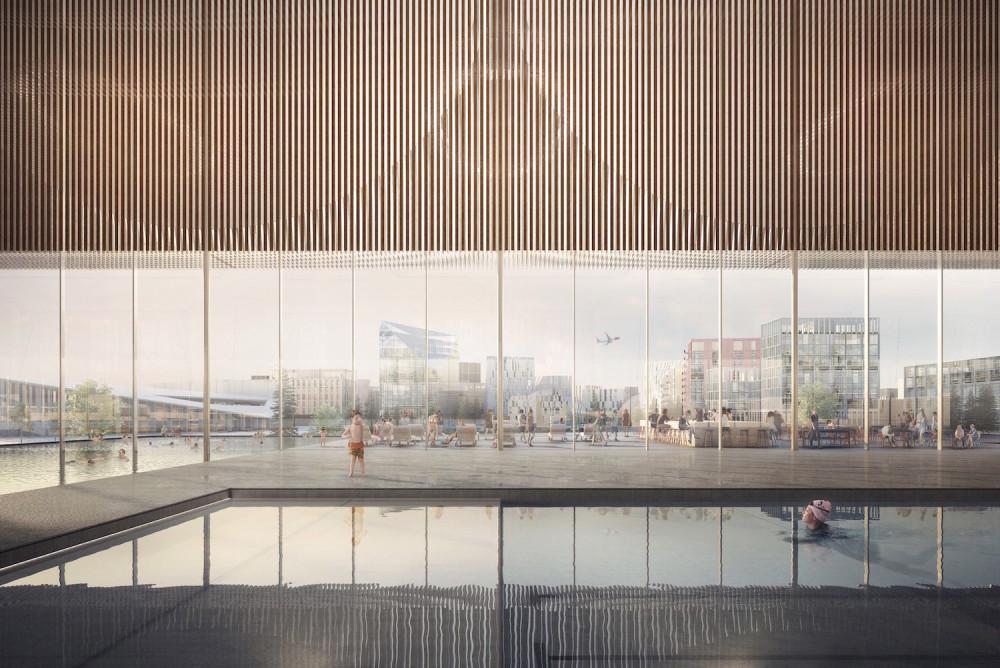 Illustration Oslo Airport City