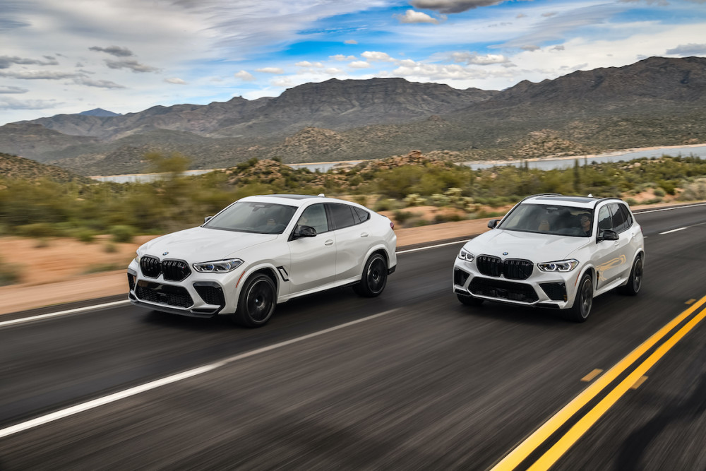 BMW X5/X6 M Competition
