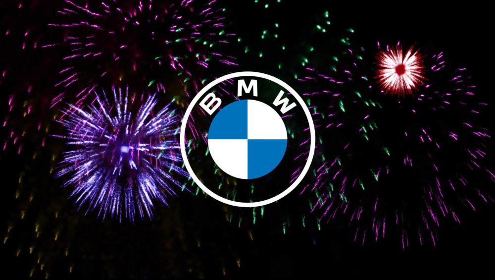 Neues Logo BMW