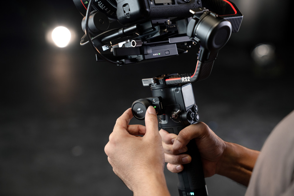 Streaming, Profis, Zubehör, Ausrüstung, Gimbal, DJI RSC 2