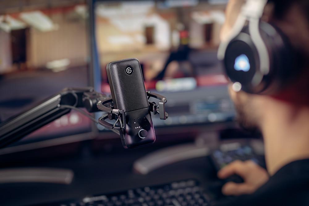 Elgato Wave:3, Streaming, Mikrofon