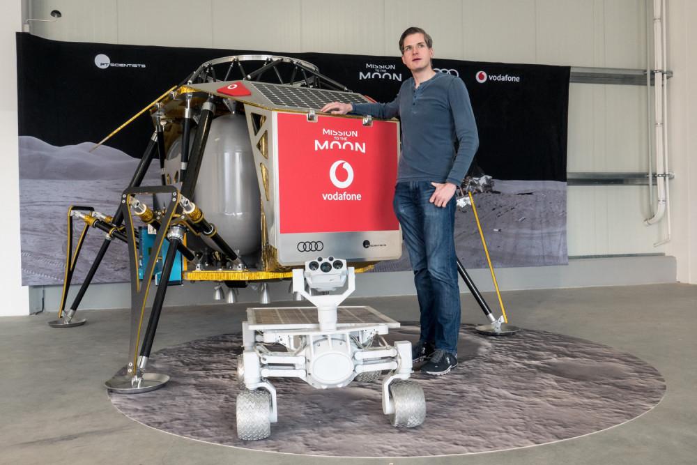 PTScientists; Robert Böhme; ALINA; Lunar Quattro Rover