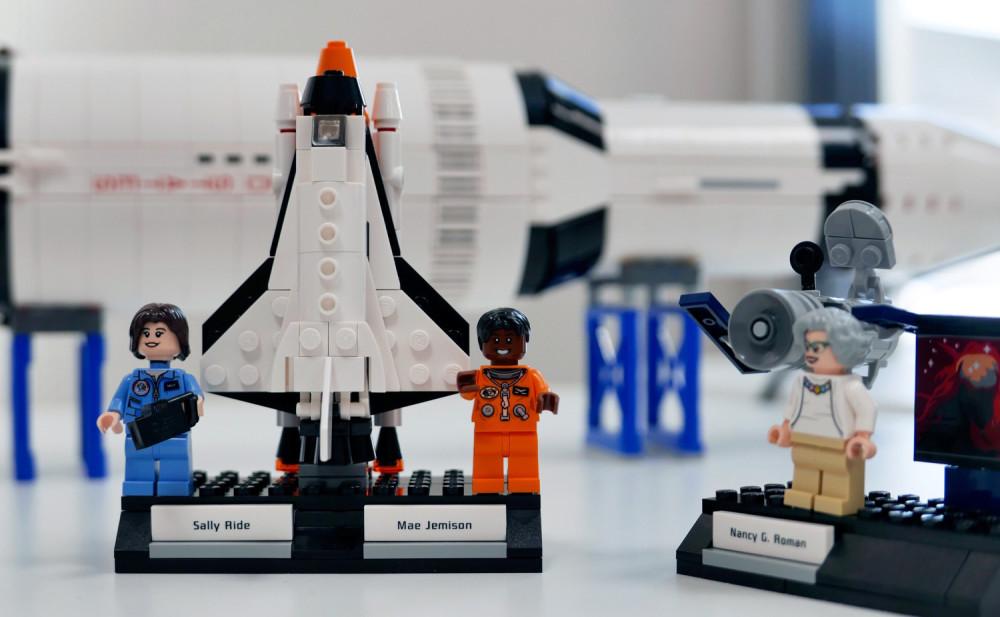 LEGO-Astronautinnen; Sally Ride; PTScientists