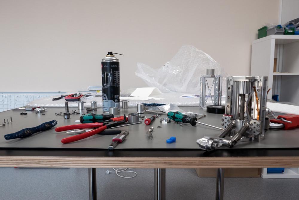 PTScientists; Werkzeug; Werkstatt; Motoren; Bauteile