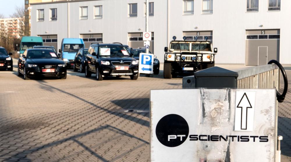 PTScientists; Zentrale; Gebäude; HQ; Berlin