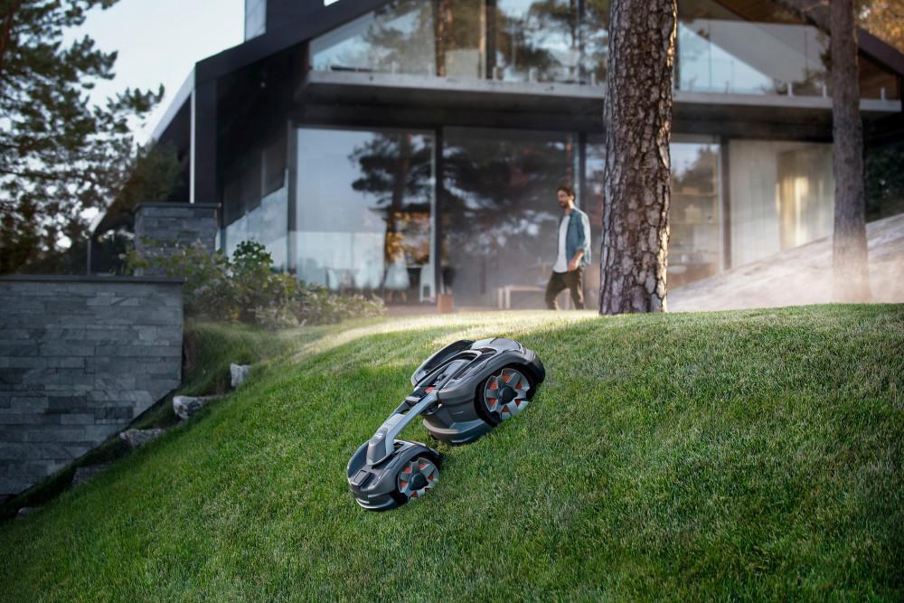 Outdoor-Gadgets, Gadgets, Sommer 2020, Sommerurlaub, Mähroboter, Husqvarna, Husqvarna Automower 435X AWD