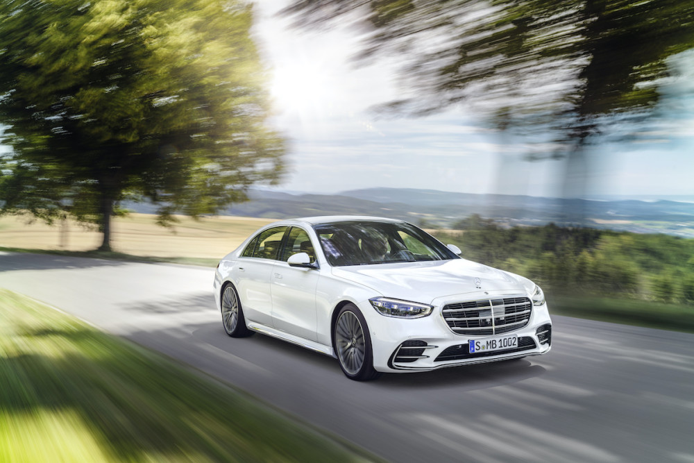 Bei der Mercedes S-Klasse zählen die inneren Werte.