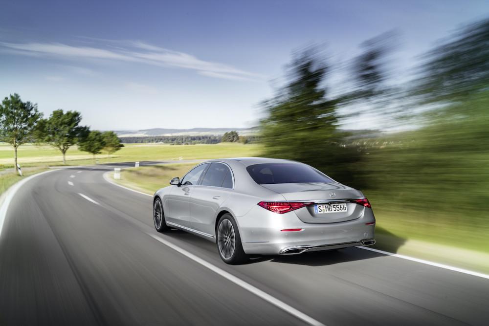 Die Mercedes S-Klasse (2021) hat neue Rückleuchten.