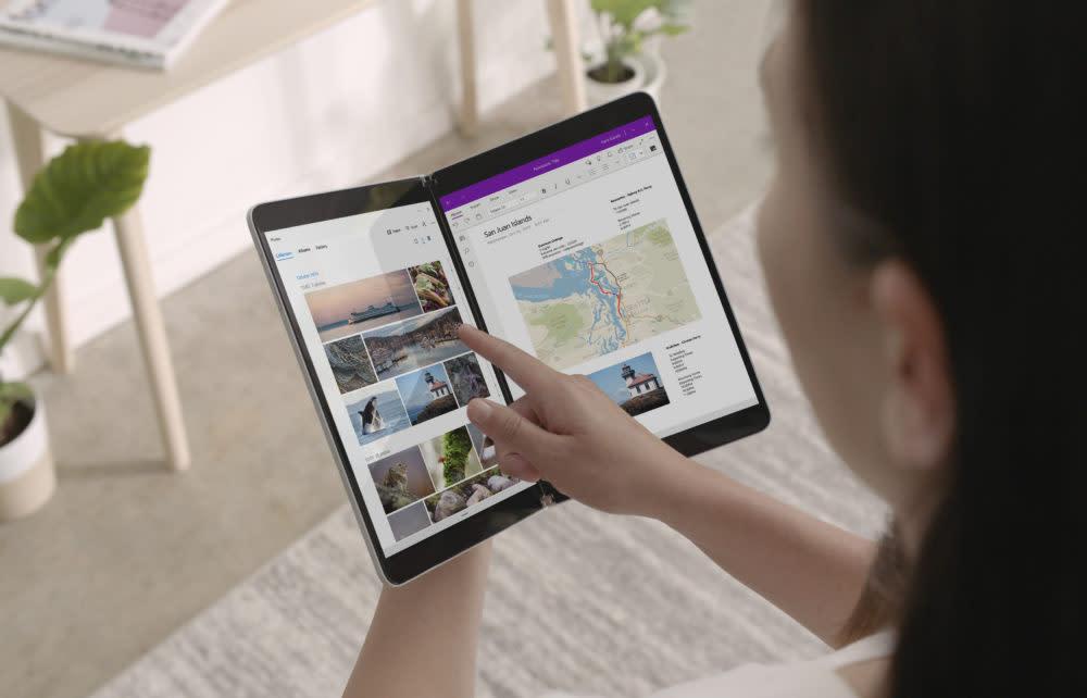 Microsoft überrascht mit faltbarem Smartphone Surface Duo