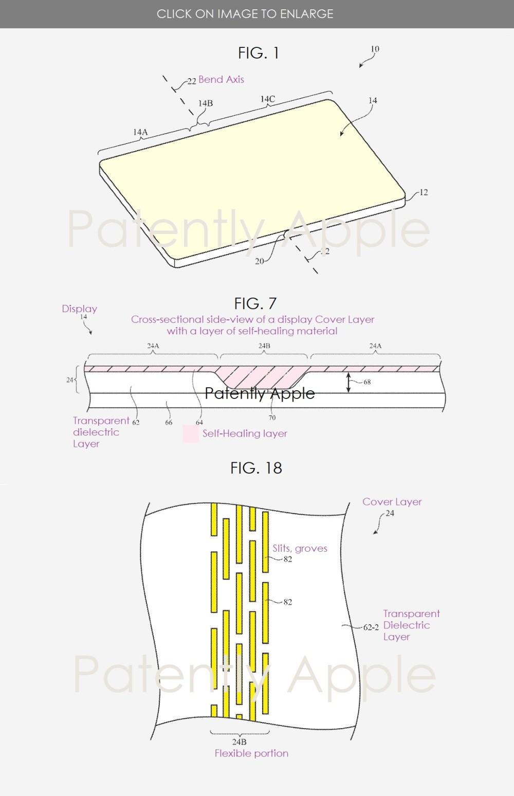 Ein Apple-Patent zeigt das faltbare iPhone