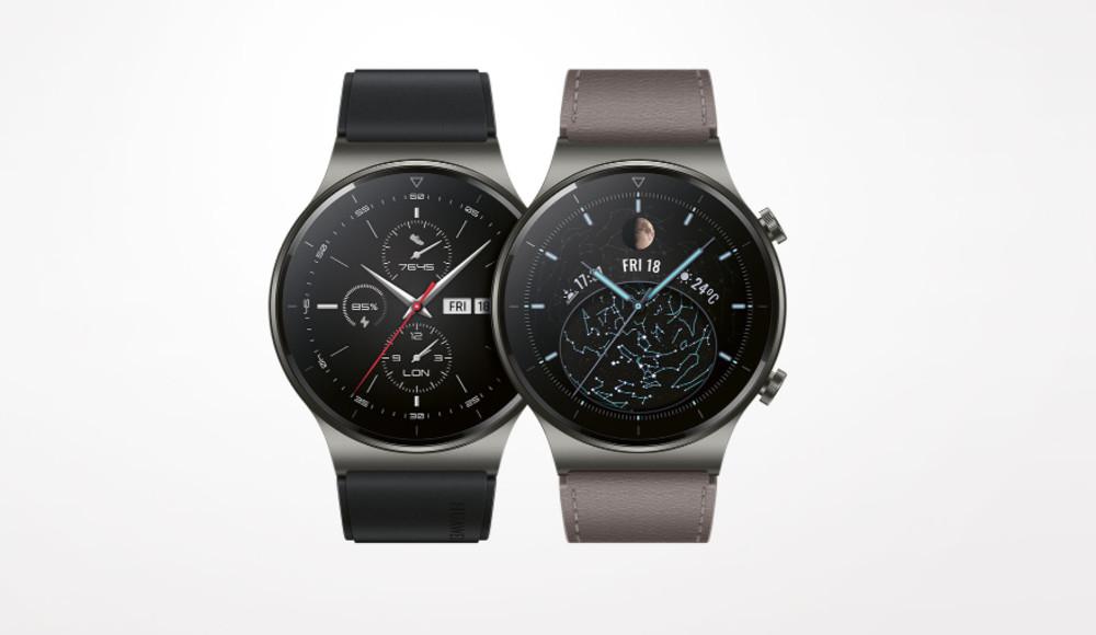 Die Huawei Watch GT2 Pro von Porsche Design