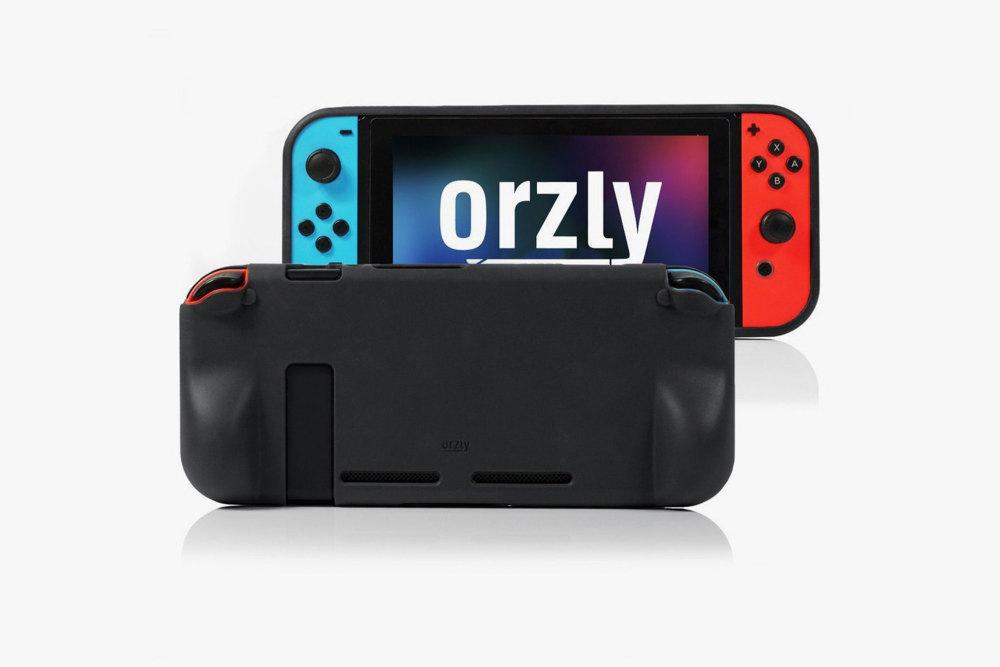 Nintendo Switch, Zubehör, Accessoire, Orzly Grip-Case