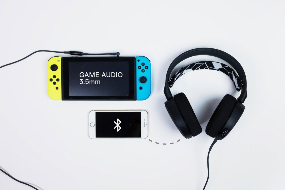 SteelSeries Arctis 3 Bluetooth als Nintendo Switch Zubehör