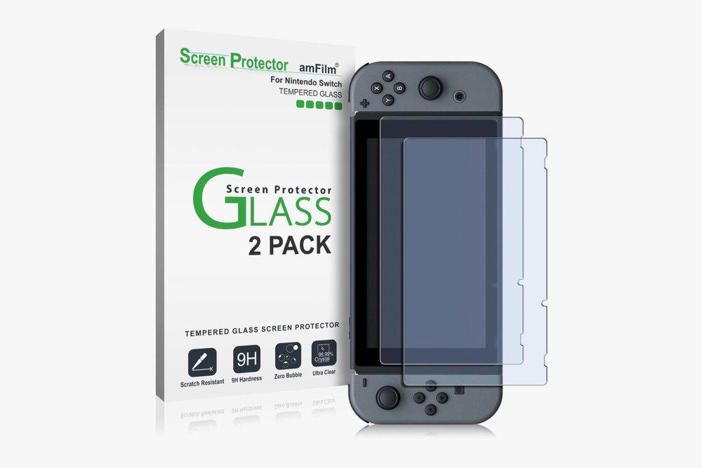 Der Nintendo Switch amFilm Screen Protector darf als Zubehör nicht fehlen
