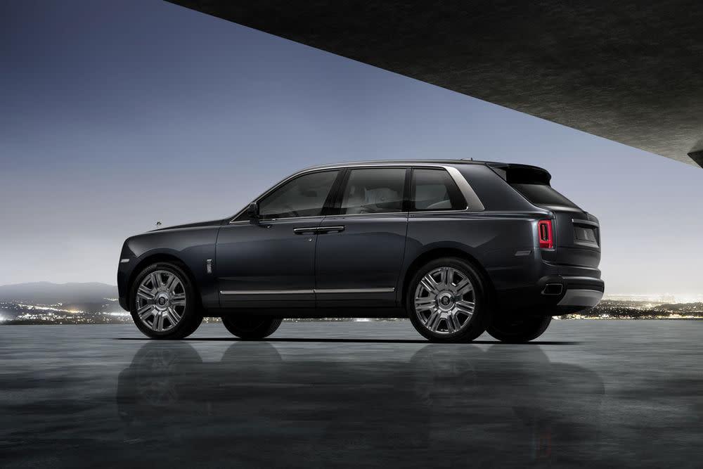 Rolls-Royce Cullinan, Darkest Tungsten